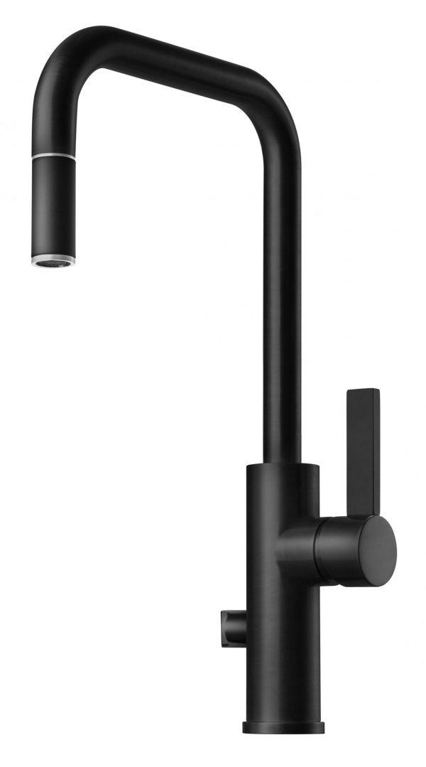ARM887 blandare, Mattsvart, Tapwell