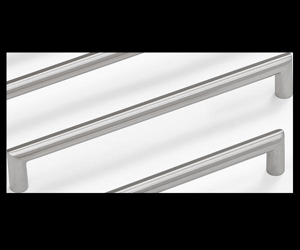Norma 12 handtag, rostfritt stål