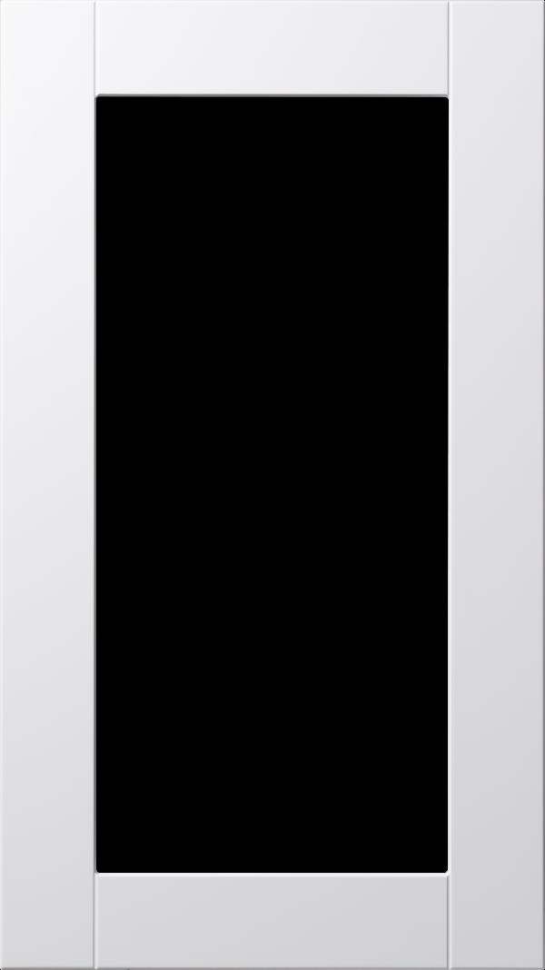 Koster lucka, vit, vitrin, Nordanro Flex