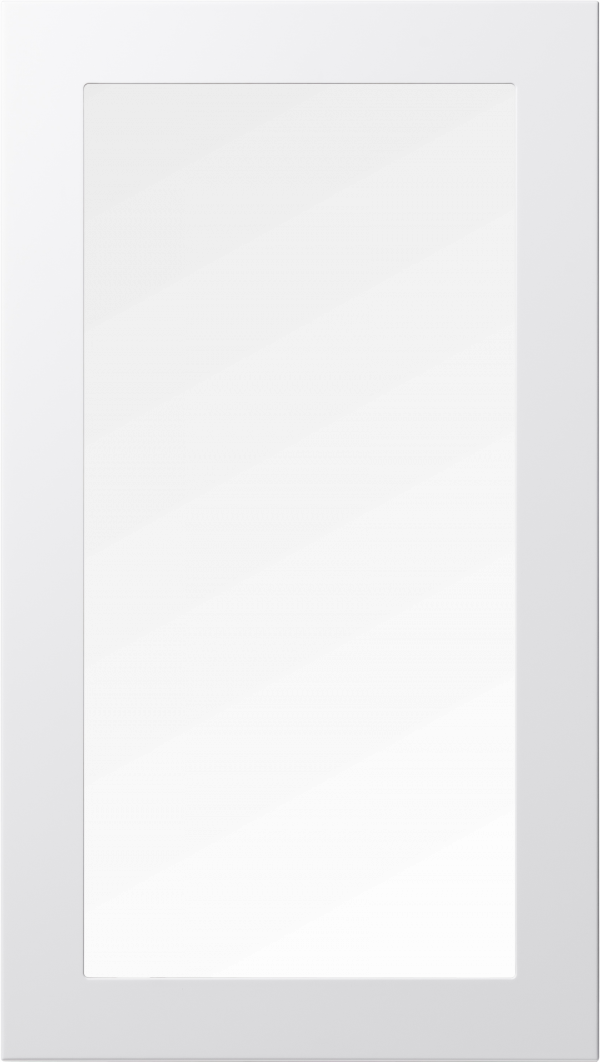 Ram 55 lucka, vit, vitrin, Nordanro Flux