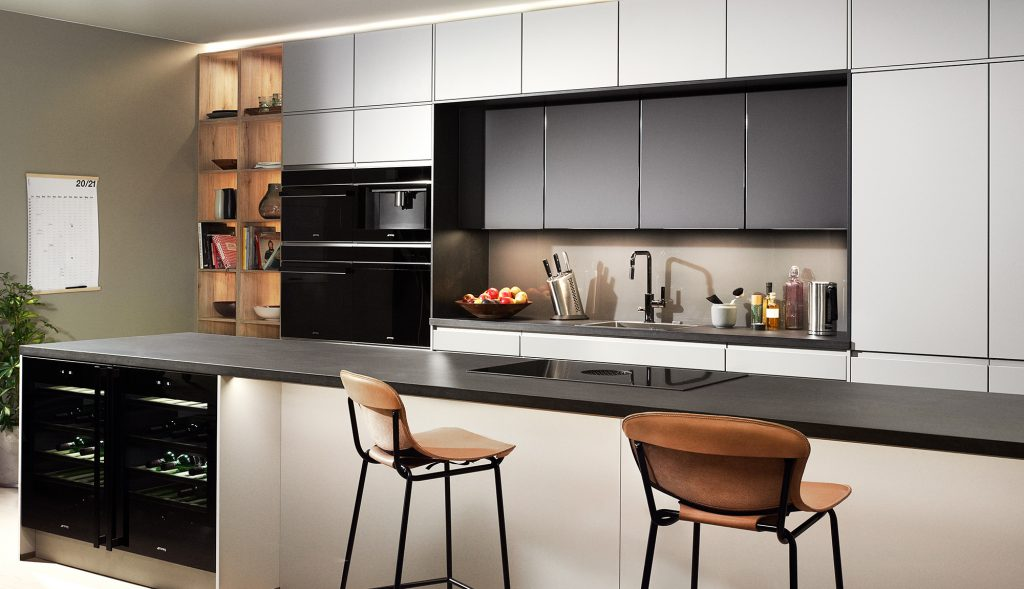 Kök, Lucka Modern 338, lucka Trend, köksö med stolar, Nordanro