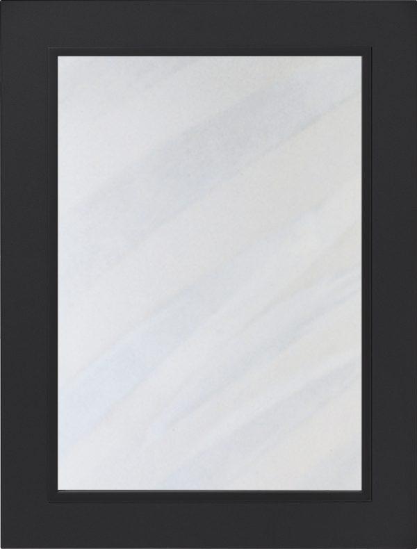 Easytouch 961 lucka, Grafitsvart ultramatt, vitrin, Nordanro