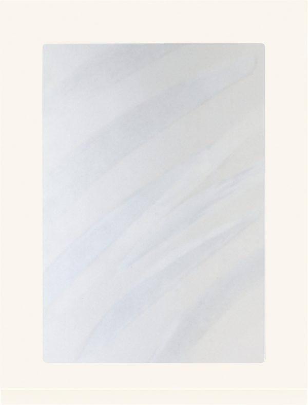 Profile 834 lucka, Vit högglans, vitrin, Nordanro