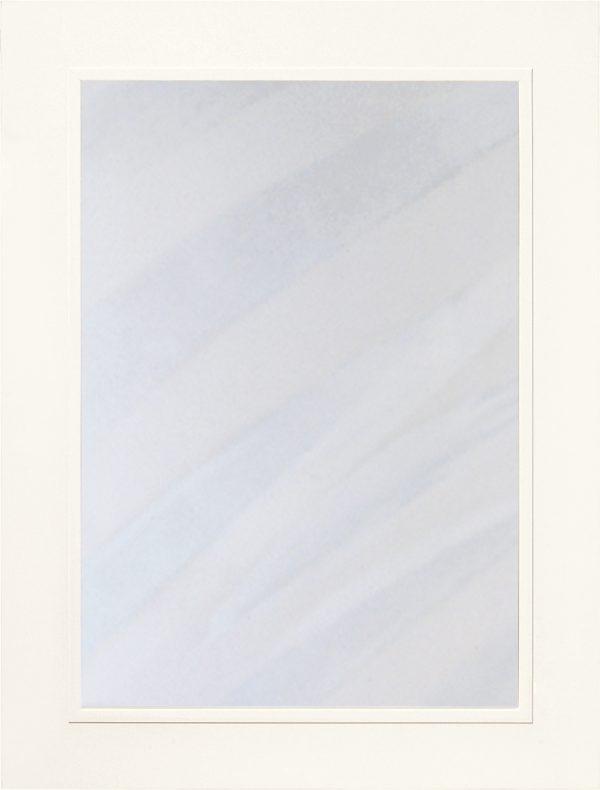 Sarek 450 lucka, Vit högglans, vitrin, Nordanro